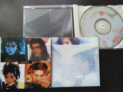 インディーズ盤2作品をまとめたCDの歌詞カード。左側が『Power Passion』、右側が『Romantic Revolution』のジャケット。30年以上前の作品とは思えない、小粋でオシャレなセンス!